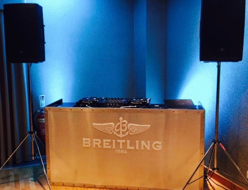 Top job from DJ James Oliver last night on our events work with Breitling UK